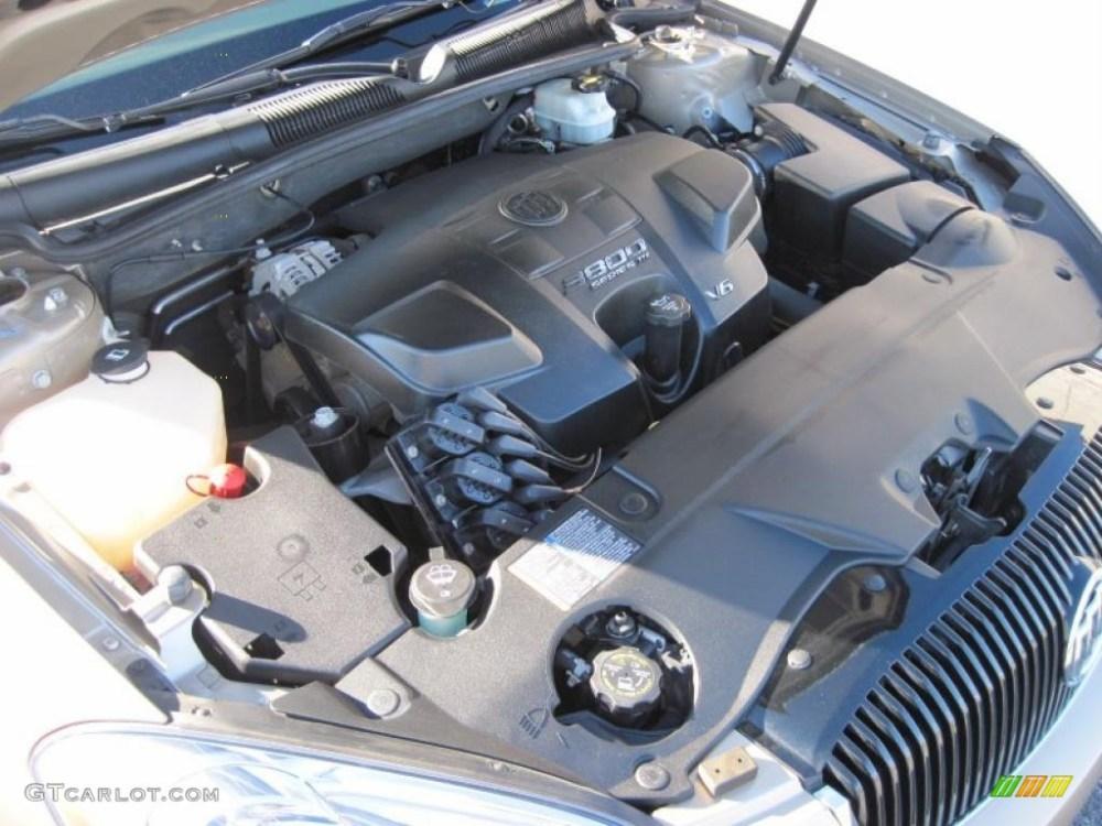 medium resolution of 2006 buick lucerne cxl 3 8 liter 3800 series iii v6 engine photo 39510468