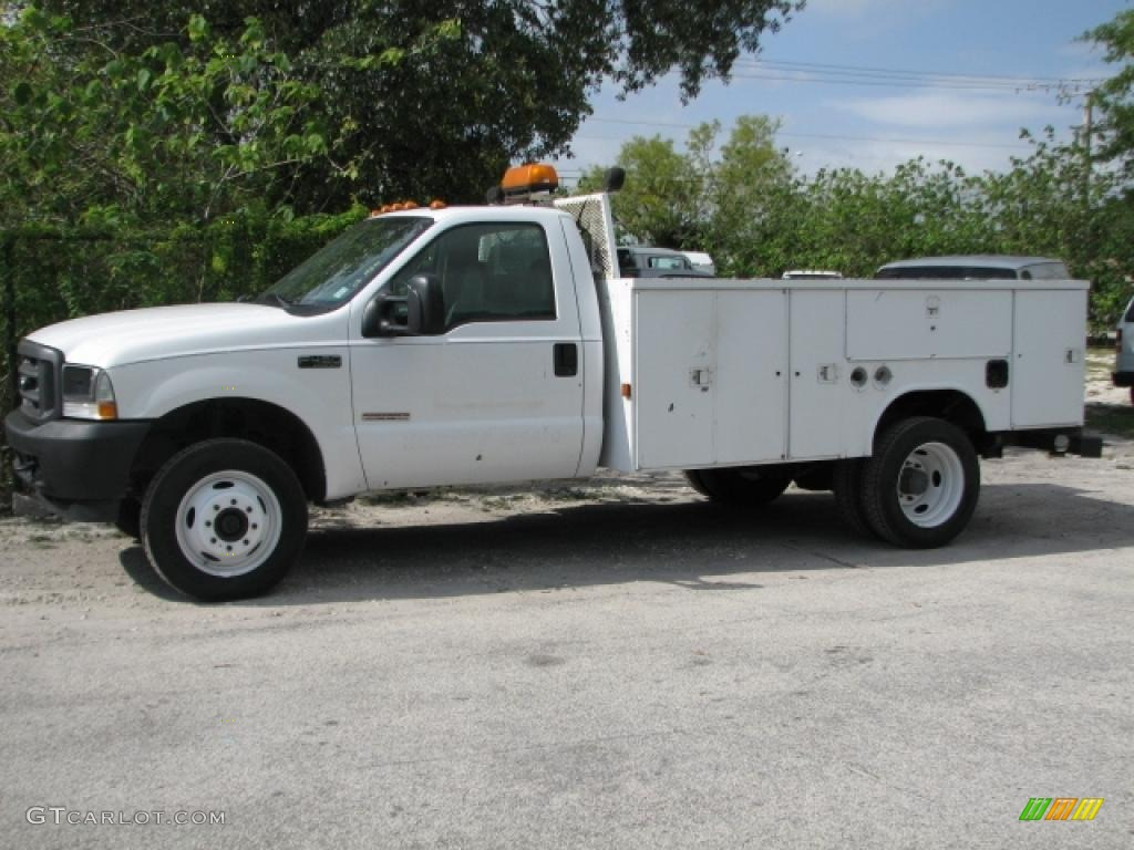 hight resolution of oxford white ford f450 super duty