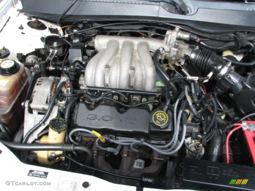 small resolution of 2000 ford taurus lx 3 0 liter ohv 12 valve flex fuel v6 engine photo