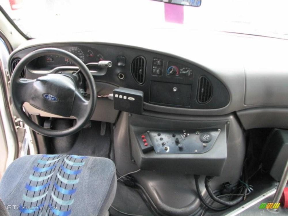medium resolution of 2002 ford e series van e450 passenger bus interior photo 39751878