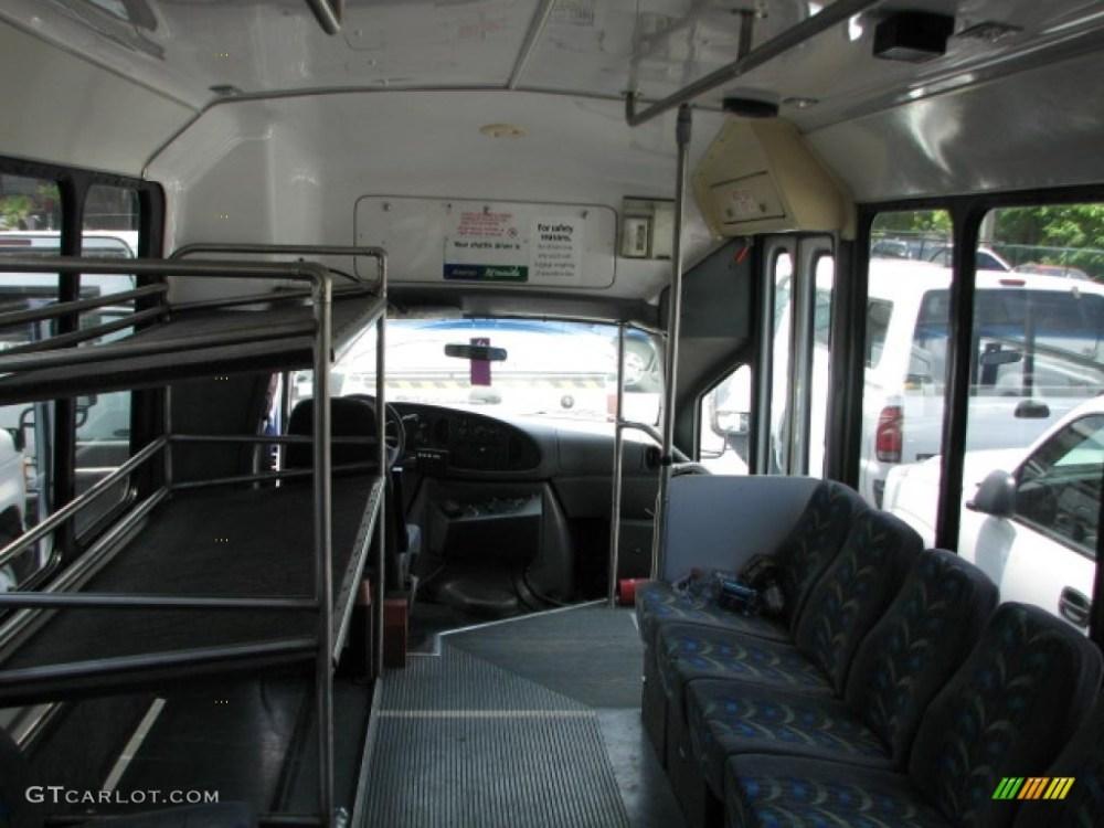 medium resolution of 2002 ford e series van e450 passenger bus interior photo 39751986