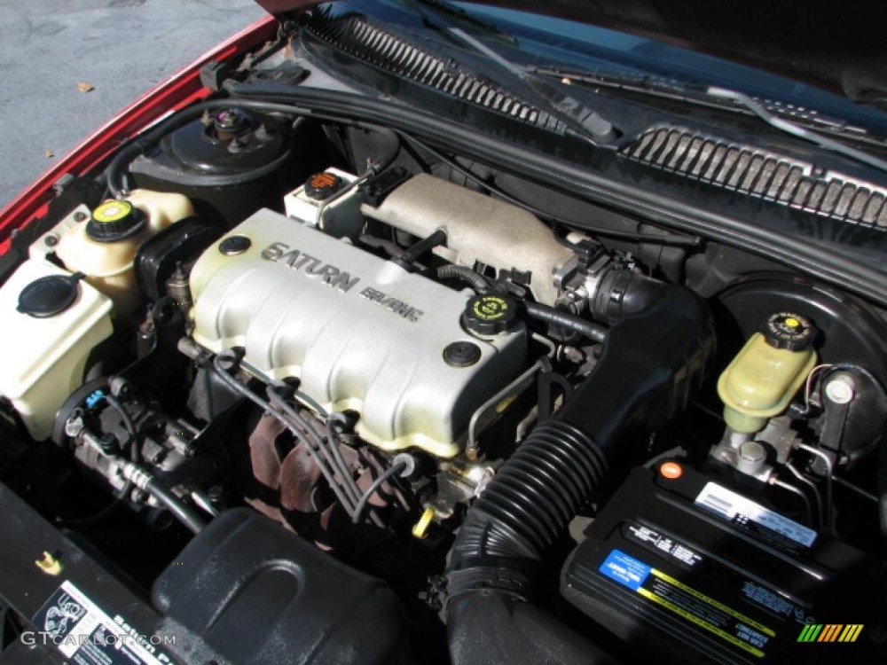 medium resolution of 1998 saturn s series sc1 coupe 1 9 liter sohc 8 valve 4 cylinder engine photo