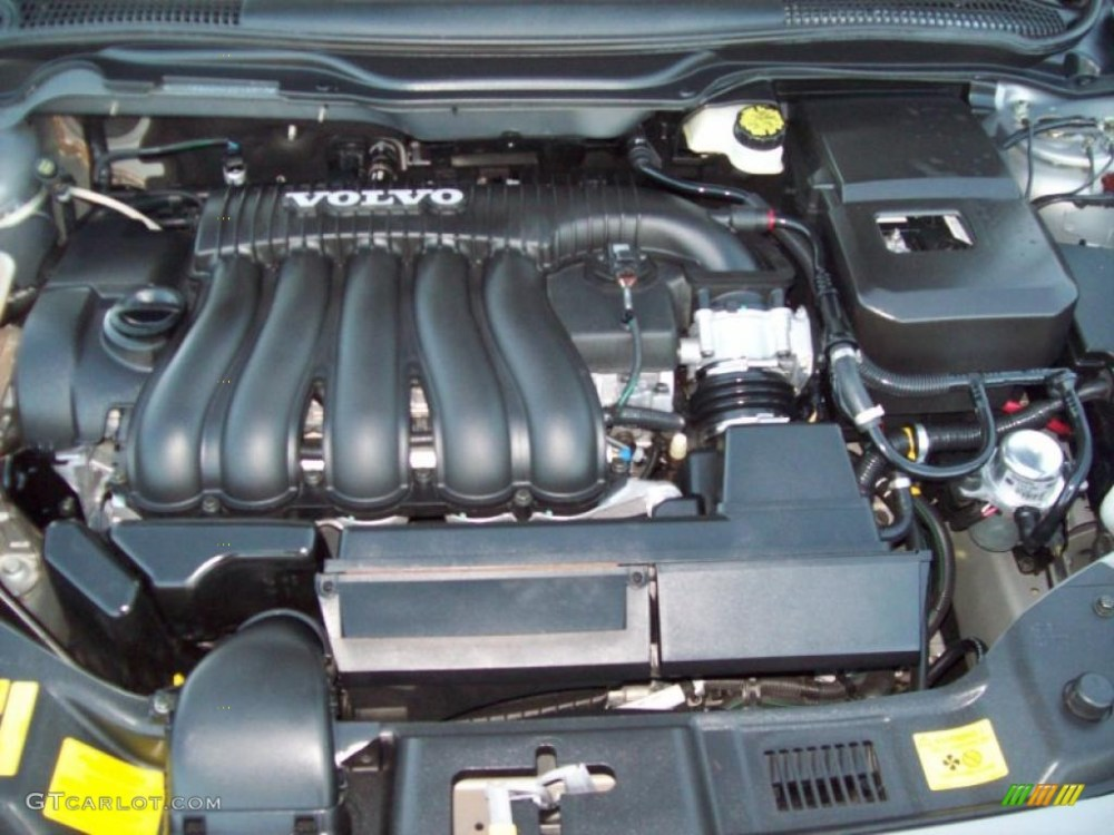 medium resolution of 2004 volvo s40 2 4i 2 4 liter dohc 20v inline 5 cylinder engine