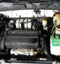 2002 daewoo lanos sport coupe engine photos [ 1024 x 768 Pixel ]