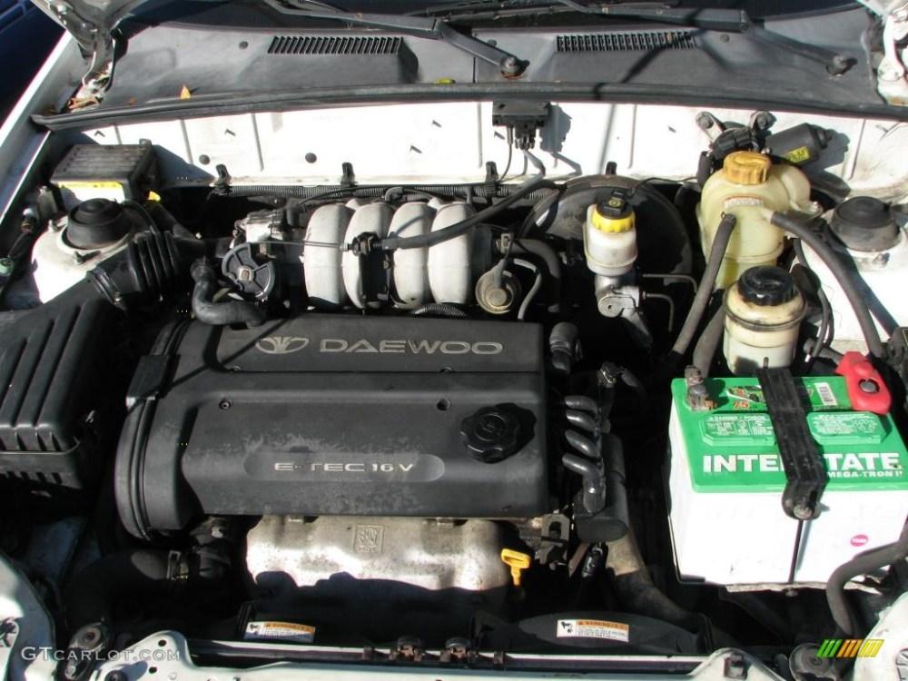 medium resolution of 2002 daewoo lanos sport coupe engine photos