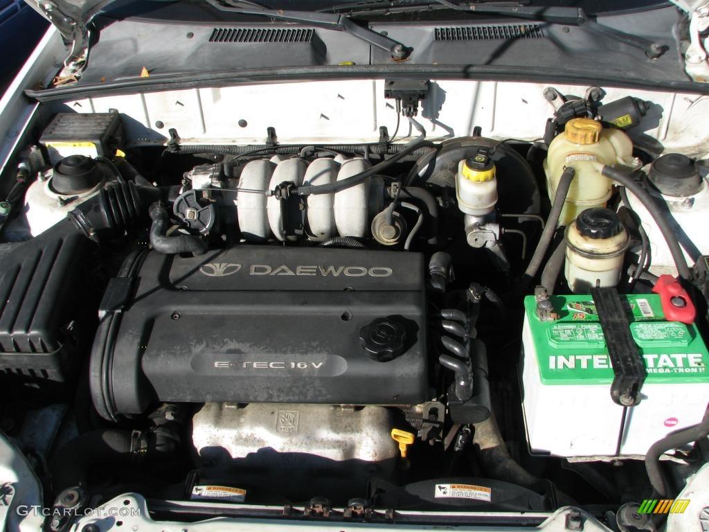 hight resolution of 2002 daewoo lanos sport coupe engine photos