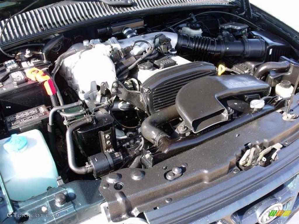 2000 Kia Sportage Engine Diagram
