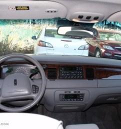 1999 lincoln town car signature light graphite dashboard photo 40512650 [ 1024 x 768 Pixel ]