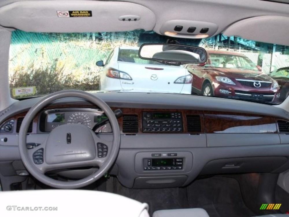 medium resolution of 1999 lincoln town car signature light graphite dashboard photo 40512650