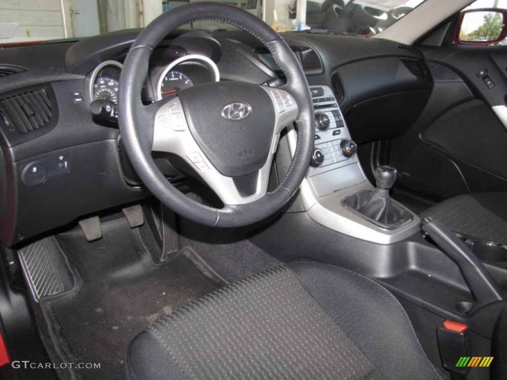 medium resolution of 2010 hyundai genesis coupe 2 0t interior photo 40606581