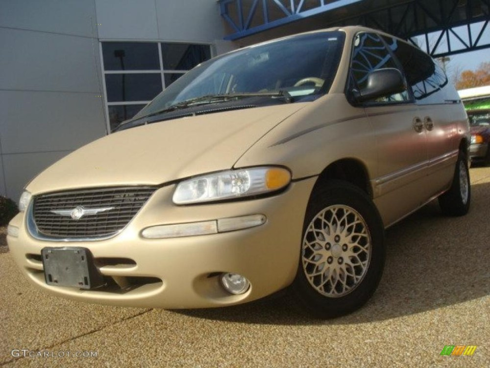 medium resolution of 1998 champagne pearl chrysler town country lx 40667862