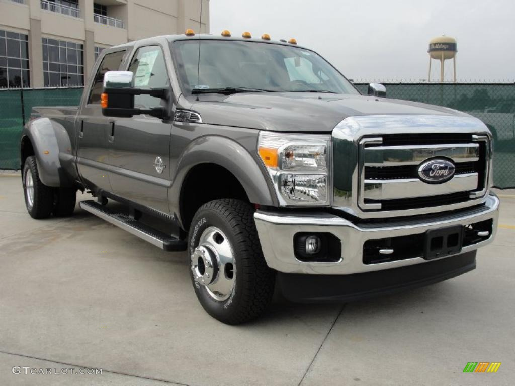 hight resolution of 2011 f350 super duty xlt crew cab 4x4 dually sterling gray metallic steel photo