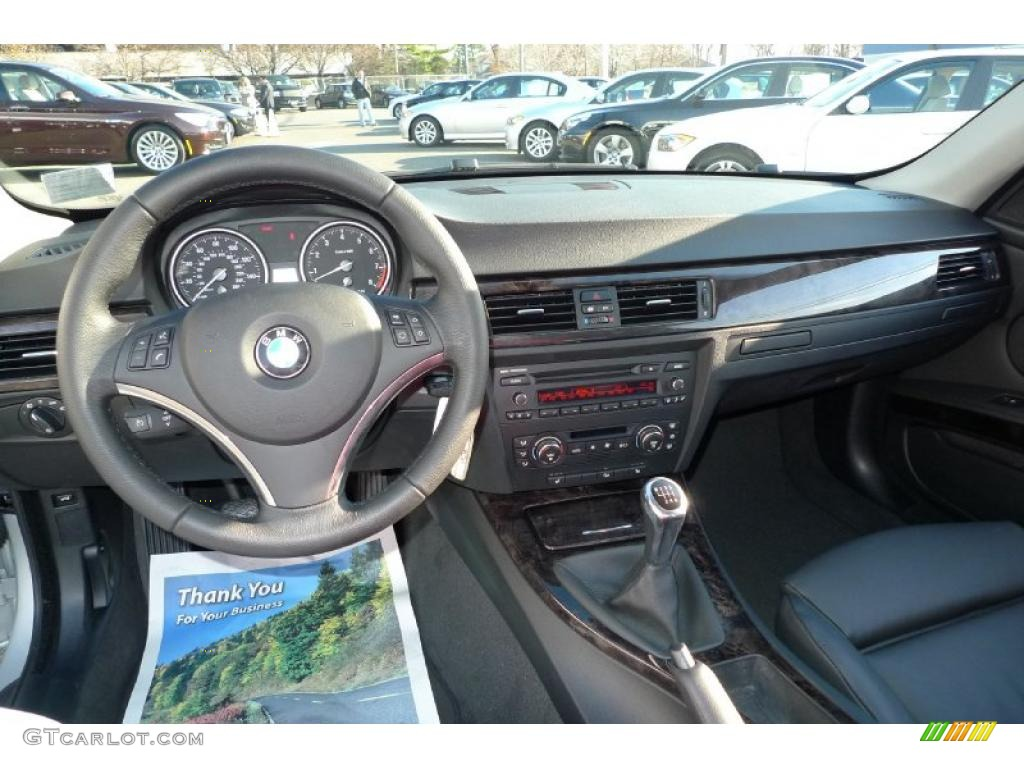 hight resolution of black interior 2008 bmw 3 series 328xi coupe photo 40752414