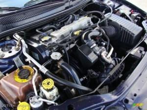 2002 Chrysler Sebring LX Sedan 24 Liter DOHC 16Valve 4