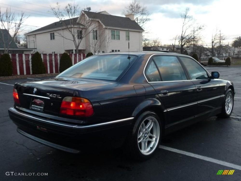 medium resolution of orient blue metallic 2000 bmw 7 series 740il sedan exterior photo 41040961