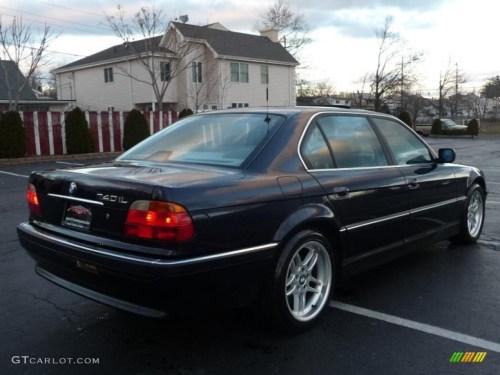 small resolution of orient blue metallic 2000 bmw 7 series 740il sedan exterior photo 41040961