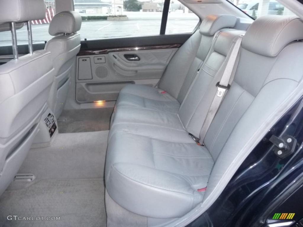 Grey Interior 2000 Bmw 7 Series 740il Sedan Photo 41041009