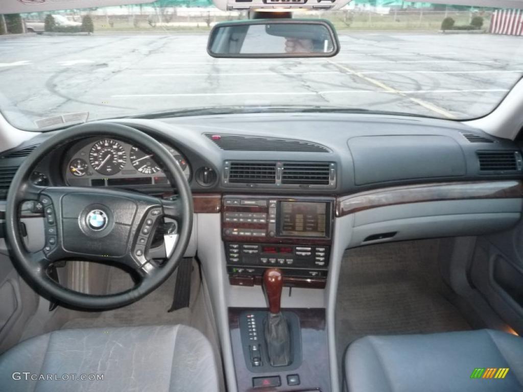 hight resolution of grey interior 2000 bmw 7 series 740il sedan photo 41041165