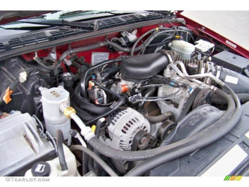 small resolution of 2003 chevrolet s10 zr2 extended cab 4x4 4 3 liter ohv 12v