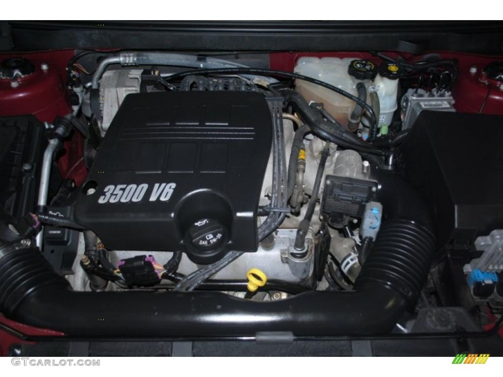 medium resolution of 2005 pontiac g6 sedan 3 5 liter 3500 v6 engine photo