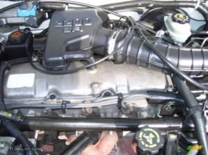 2002 Chevrolet Cavalier Sedan 22 Liter OHV 8Valve 4