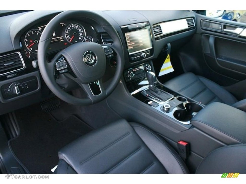 medium resolution of black anthracite interior 2011 volkswagen touareg vr6 fsi sport 4xmotion photo 41532005