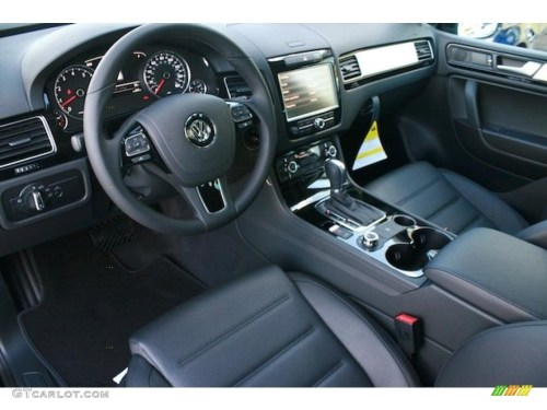 small resolution of black anthracite interior 2011 volkswagen touareg vr6 fsi sport 4xmotion photo 41532005