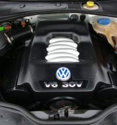2001 volkswagen passat glx sedan 2 8 liter dohc 30 valve v6 engine rh gtcarlot com [ 1024 x 768 Pixel ]