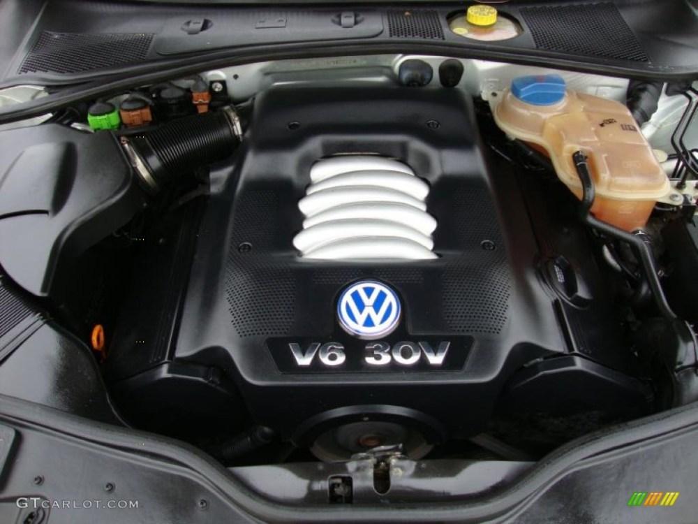 medium resolution of 2001 volkswagen passat glx sedan 2 8 liter dohc 30 valve v6 engine rh gtcarlot com