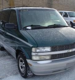 2000 astro ls passenger van dark forest green metallic medium gray photo 1 [ 1024 x 768 Pixel ]