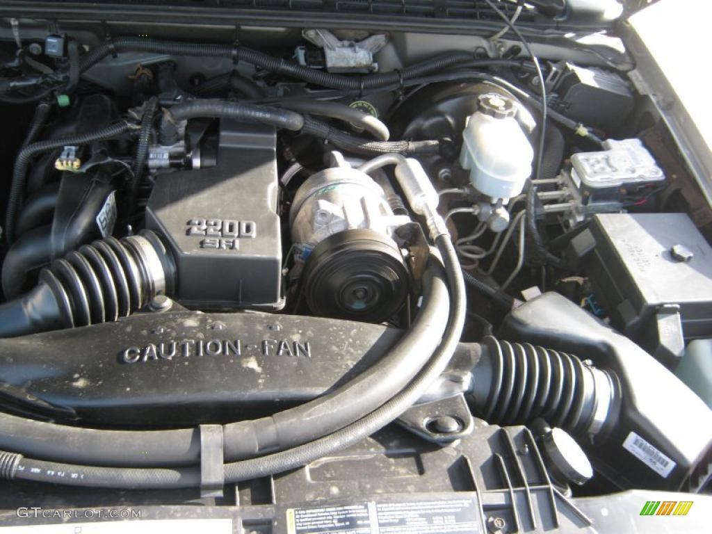 Regular Eng 2 2 4 Liter Chevrolet Cab Flex Valve Cylinder Ohv Fuel 2002 Parts S10 8