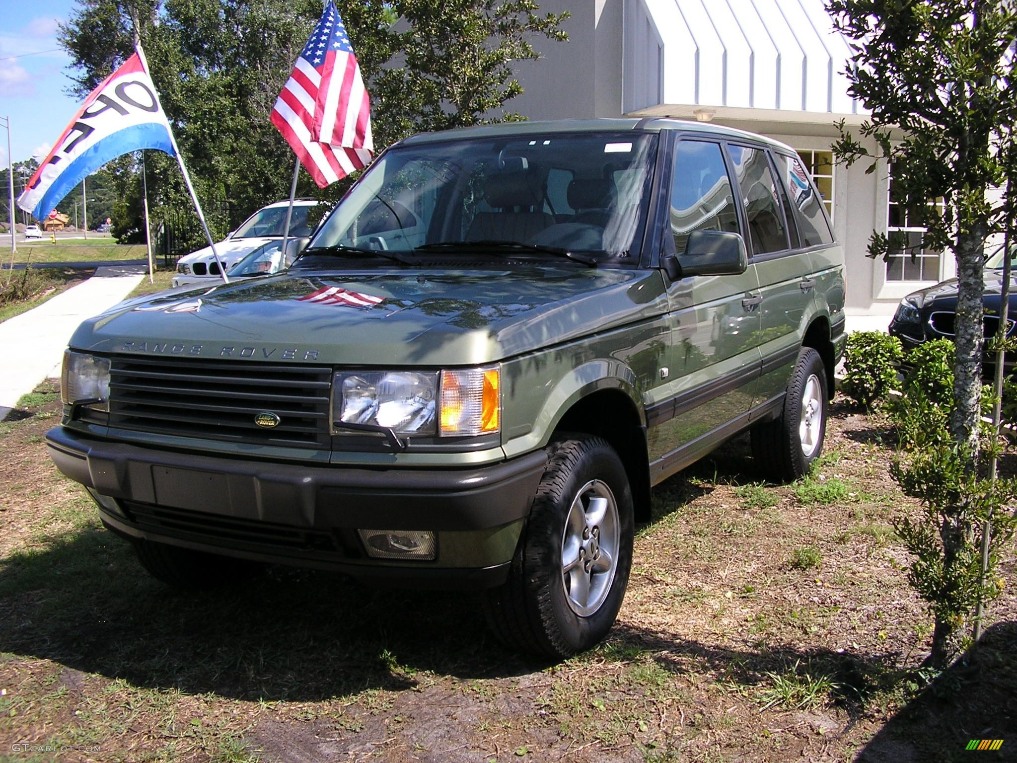 2001 Kent Green Pearl Land Rover Range Rover SE