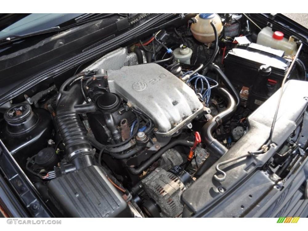 medium resolution of 1997 volkswagen jetta gls sedan 2 0 liter sohc 8 valve 4 cylinder 97 jetta engine diagram valve