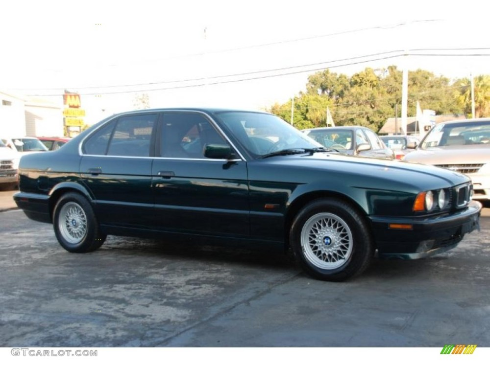 medium resolution of boston green metallic 1995 bmw 5 series 525i sedan exterior photo 41845253 1991 bmw 525i