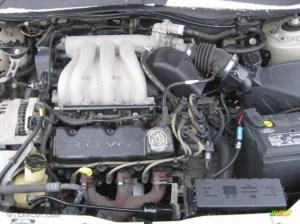 2000 Ford Taurus SES 30 Liter OHV 12Valve V6 Engine