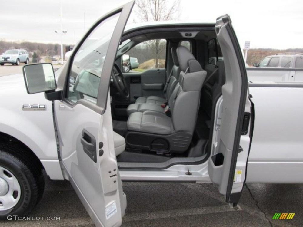 medium resolution of 2007 ford f150 xl regular cab 4x4 interior photo 42255286