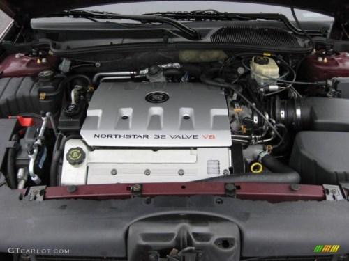small resolution of 2001 cadillac deville dts sedan 4 6 liter dohc 32 valve cadillac 32 valve northstar engine 2004