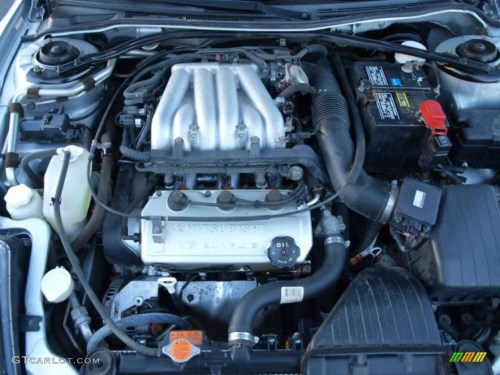 small resolution of 2000 mitsubishi eclipse gt coupe 3 0 liter sohc 24 valve v6 engine photo 42414228
