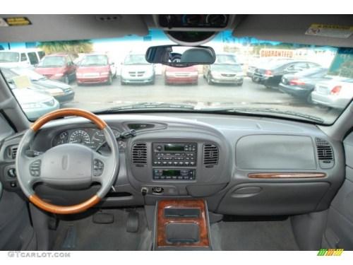 small resolution of 2000 lincoln navigator standard navigator model medium graphite dashboard photo 42475474