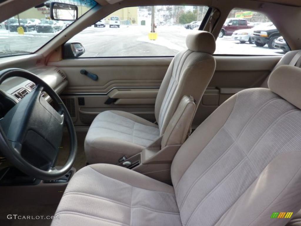 1994 Ford Tempo Interior