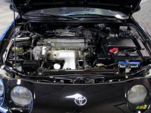 1999 Toyota Celica GT Convertible 22 Liter DOHC 16Valve