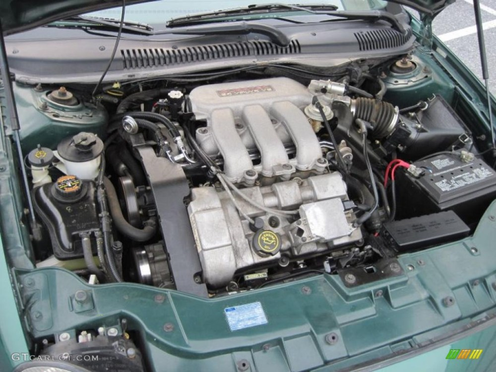 medium resolution of 1999 ford taurus se 3 0 liter dohc 24 valve v6 engine photo 43549263