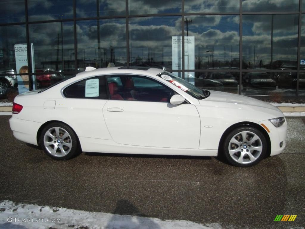 hight resolution of alpine white 2008 bmw 3 series 335xi coupe exterior photo 43608409