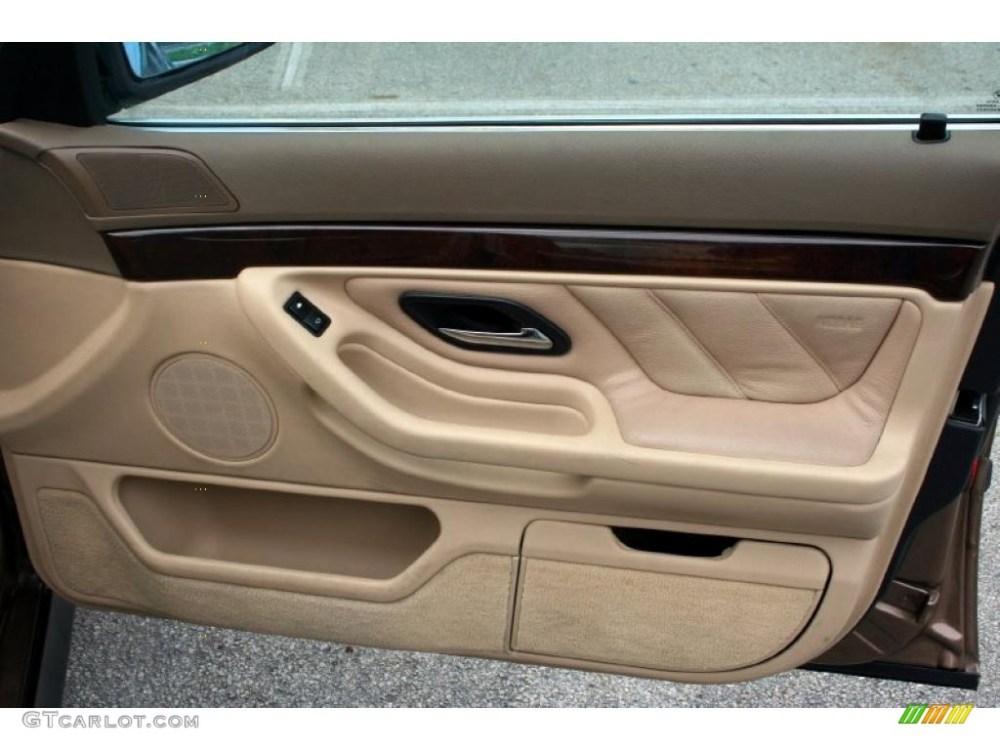 medium resolution of 2000 bmw 7 series 740il sedan sand door panel photo 43789258