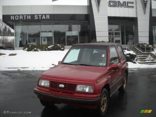 small resolution of bright red geo tracker