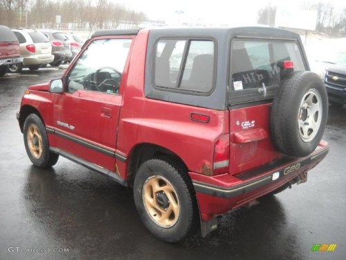 small resolution of 1995 bright red geo tracker lsi 4x4 43991094 photo 5