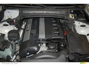 2001 BMW 3 Series 325i Coupe 25L DOHC 24V Inline 6