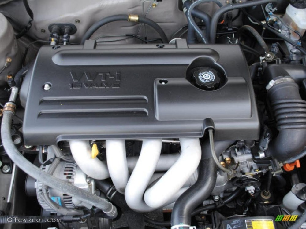 medium resolution of 2000 toyota corolla ce 1 8 liter dohc 16 valve 4 cylinder engine photo 44089688