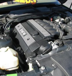 1998 bmw 3 series 328i sedan 2 8 liter dohc 24 valve inline 6 cylinder engine [ 1024 x 768 Pixel ]