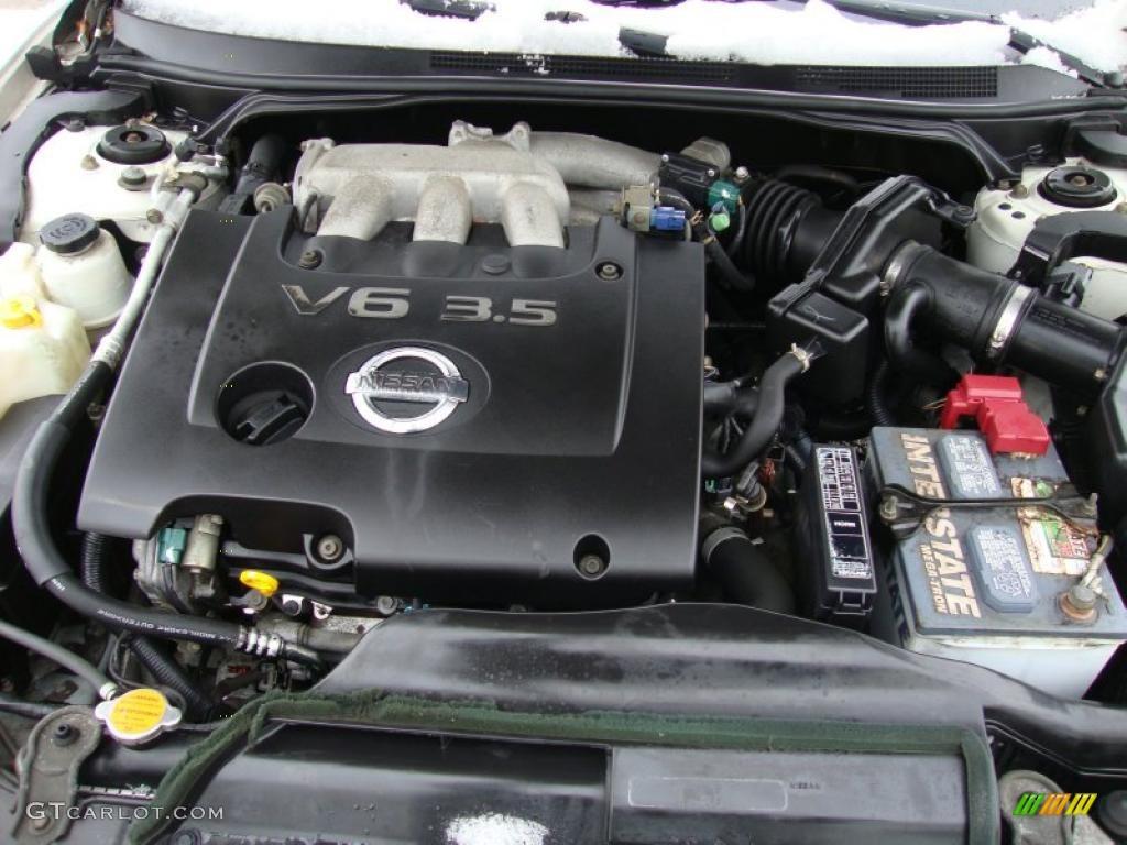 2001 Nissan Maxima Color Codes
